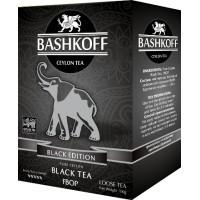 Bashkoff Башкофф Чёрная Серия ФБОП 200г. молодой верхний лист с типсами (Шри-Ланка)