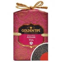Golden Tips (Голден Типс) Ассам Королевский парчовый мешок 100г. чёрный чай (Индия)