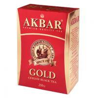 Akbar (Акбар) Голд Ред 250г. чёрный листовой (Россия)