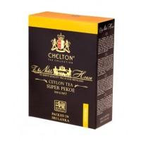 Chelton (Челтон) Благородный дом 200г. молодой крупнолистовой чёрный сорта Пекое Премиум (Шри-Ланка)