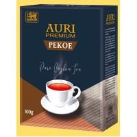 Auri (Аури) Пекое 100г. крупнолистовой сорта пекое. синяя пачка (Шри-Ланка)