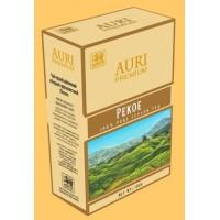 Auri (Аури) Пекое 100г. крупнолистовой сорта пекое. бежевая пачка (Шри-Ланка)