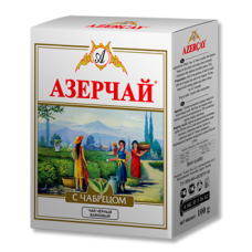 Azercay with Thyme Азерчай с Чабрецом 100г. чёрный (Азербайджан)
