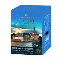 Hyton Premier Хайтон Премьер 200г. купаж чёрного и зелёного чая с доб. соусепа (Шри-Ланка)