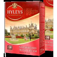 Hyleys Хейлис Клубника со сливками 100г. чёрный аромат (Россия)