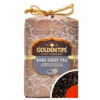 Golden Tips (Голден Типс) Эрл Грей Дарджилинг Королевский парчовый мешок 100г. чёрный чай с бергамотом (Индия)