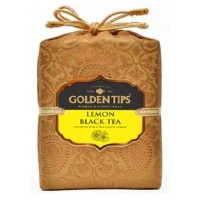 Golden Tips (Голден Типс) Лимон Королевский парчовый мешок 100г. чёрный чай (Индия)