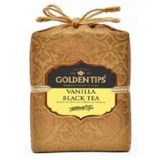 Golden Tips (Голден Типс) Ваниль Королевский парчовый мешок 100г. чёрный чай с ванилью (Индия)