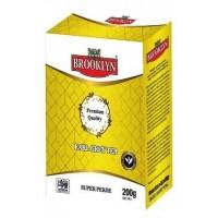 Brooklyn (Бруклин) Эрл Грей 200г. крупнолистовой сорта пекое с маслом бергамота (Шри-Ланка)