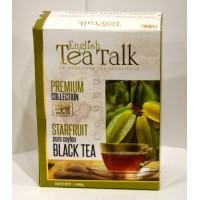 English Tea Talk (ИнглишТиТок) Карамболь 100г. чёрный чай с ароматом карамболи (Шри-Ланка)
