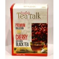 English Tea Talk (ИнглишТиТок) Вишня 100г. чёрный чай с ароматом вишни (Шри-Ланка)