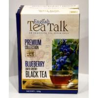 English Tea Talk (ИнглишТиТок) Черника 100г. чёрный чай с ароматом черника (Шри-Ланка)