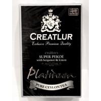 Creatlur (Креатлюр) Платинум Бергамот и Лимон 200г. чёрный чай с добавками  (Шри Ланка)