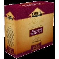 Cupful (Капфул) Английский Завтрак 100пак. по 2г. чёрный пакетированный (Шри-Ланка)