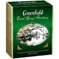 Greenfield Earl Grey Fantasy Бергамот 100 пак. (Россия)