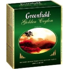 Greenfield Godlen Ceylon 100 пак. (Россия)