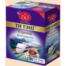 Tea Tang (Ти Тэнг) Экспресс 100 пак. по 2,5г. чёрный чай (Шри Ланка)
