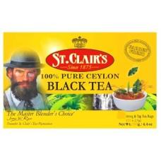 St.Clair's Black Tea 100пак. по 2г. (Шри-Ланка)