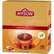 Hyson (Хайсон) Цейлонский премиум чёрный 100пак. по 2г. (Шри-Ланка)