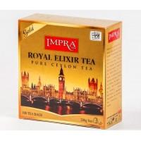 Impra Импра Королевский Золотой Эликсир чёрный чай 100пак. по 2г. (Шри-Ланка)