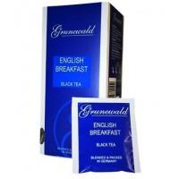 Grunewald Грюнваль Английский завтрак чёрный 25пак. по 2г. (Германия)