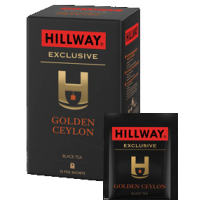 Hillway (Хилвей) Золотой Цейлон 25пак.по 2г. в метал. сашетах (Шри-Ланка Россия)