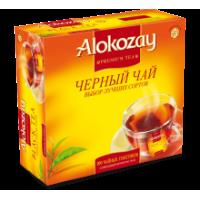 Alokozay Алокозай Чёрный 100пак. по 2г.  (ОАЭ)