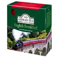 Ahmad Tea (Ахмад) Английский завтрак 100пак. по 2г. в метал.сашетах чёрный чай (Россия)