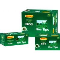 Bostea(Бости) Файн Типс 100пак. по 2г. чёрный пакетированный (Шри-Ланка)