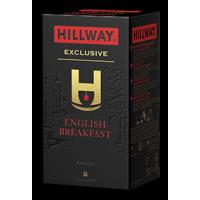 Hillway (Хилвей) Английский завтрак 25пак.по 2г. в метал. сашетах (Шри-Ланка Россия)