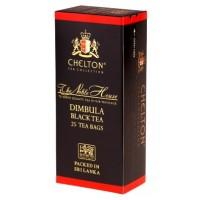 Chelton (Челтон) Благородный дом Димбула 25пак. по 2г. чёрный Премиум (Шри-Ланка)