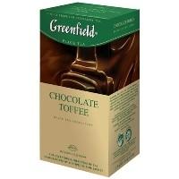 Greenfield (Гринфилд) Шоколад тоффи 25 пак. чёрный с шоколадом (Россия)