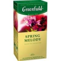 Greenfield (Гринфилд) Сприн Мелоди 25 пак. чёрный чай с добавками (Россия)