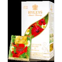 Hyleys с шиповником и каркаде 25 пак. (Шри Ланка)