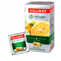 Hillway (Хилвей) Лимон 25пак. чёрный чай с лимоном  (Шри-Ланка)