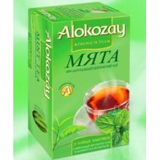 Alokozay Мята чёрный чай 25пак.по 2г. (ОАЭ)