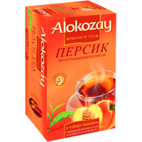 Alokozay Персик 25пак. по 2г. (ОАЭ)