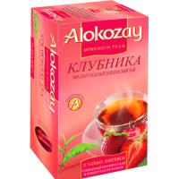Alokozay Клубника 25пак. по 2г. (ОАЭ)