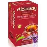 Alokozay Чёрный чай с Чабрецом 25пак. по 2г. (ОАЭ)