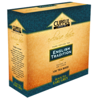 Cupful Earl Gray Капфул Бергамот натурал. масло 100пак. по 2г. (Шри Ланка)