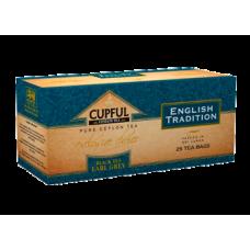 Cupful Earl Gray Капфул Бергамот натурал. масло 25пак. по 2г. (Шри Ланка)