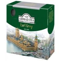 Ahmad Tea (Ахмад) Эрл Грей 100пак. по 2г. в метал.сашетах  чёрный с бергамотом (Россия)