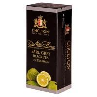 Chelton (Челтон) Благородный дом Бергамот 25 пак. чёрный чай с маслом бергамота Премиум (Шри-Ланка)