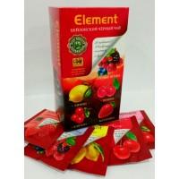 Element (Элемент) Блэк Ассорти 25пак. в метал.сашетах зелёный с добавками чай (Шри-Ланка)