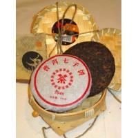 Hunan Xiaoxiang Imperial Puerh Cake + Puerh Cake 200г. (Китай)