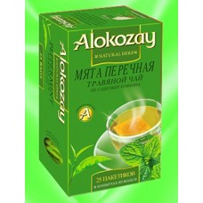 Alokozay Мята перечная травяной 25пак. по 2г. (ОАЭ)