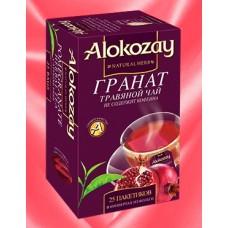 Alokozay Гранат травяной чай 25пак. по 2г. (О.А.Э.)