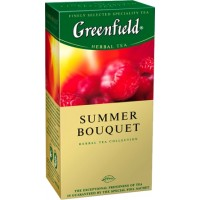 Greenfield Summer Bouquet 25пак. по 1.5г. ягодно-фруктово-травяной (Россия)