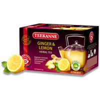 Teekanne (Тиканн) Имбирь Лимон 20пак. по 1,75г. фруктово-травяной (Германия)