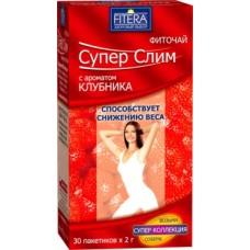 FITERA Супер Слим Клубника 30 пак. (Россия)